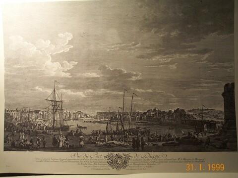 Vernet - Vue du port de bordeaux joseph vernet ...